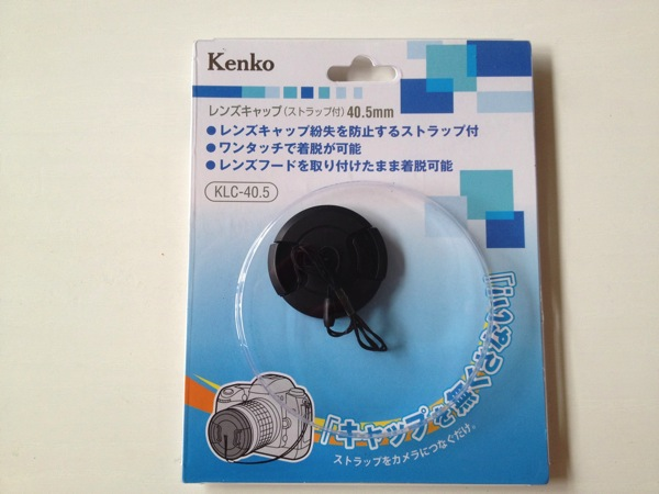 Kenko レンズアクセサリ ストラップ付レンズキャップ40.5mm KLC-40.5