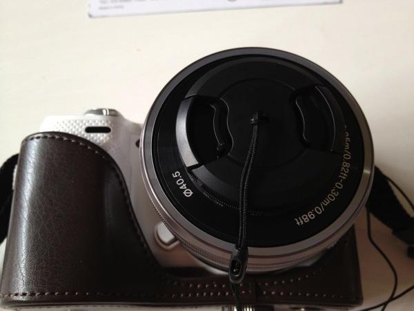 ストラップ付レンズキャップ40.5mm KLC-40.5