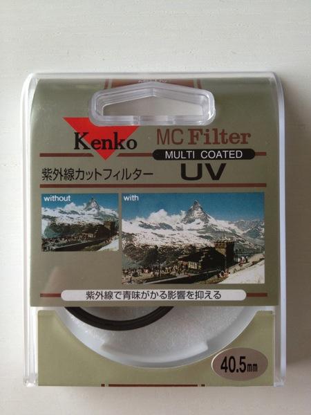 Kenko カメラ用フィルター MC UV 40.5mm 紫外線吸収用 042021