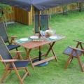 優雅にベランダライフを満喫!山善 ガーデンマスター  フォールディングチェア&テーブル